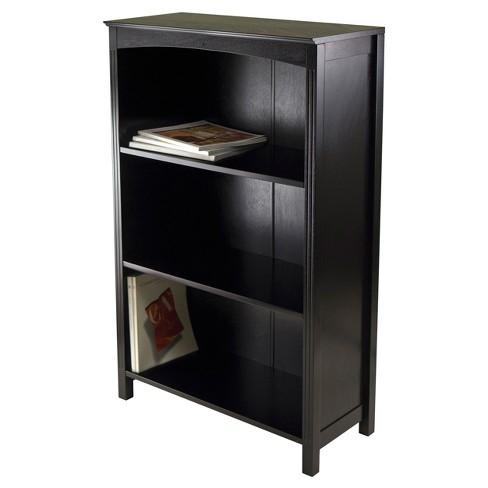 4299 Terrace 4 Shelf Bookshelf Dark