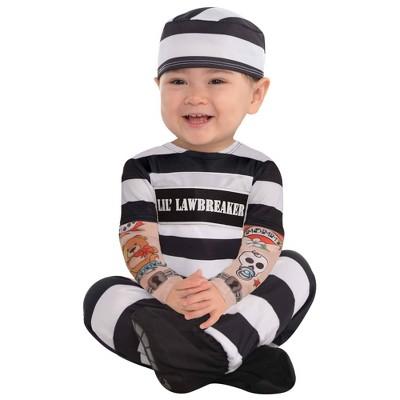 Baby Lil' Law Breaker Halloween Costume