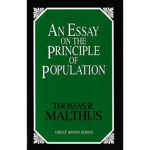 An Essay on the Principle of Population - (Great Minds) by  Thomas Robert Malthus (Paperback) - image 1 of 1