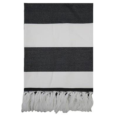 Outdoor Blanket - Stripe Black - Project 62™