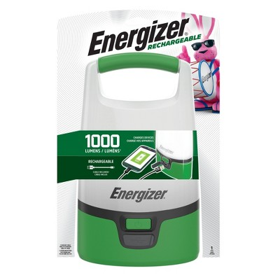 Energizer Rechargeable Area LED FlashLight Green