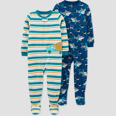 Baby Boys' Construction Footed Pajama - Just One You® made by carter's Green 9M