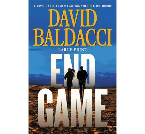 End Game -  Large Print (Will Robie) by David Baldacci (Hardcover) - image 1 of 1