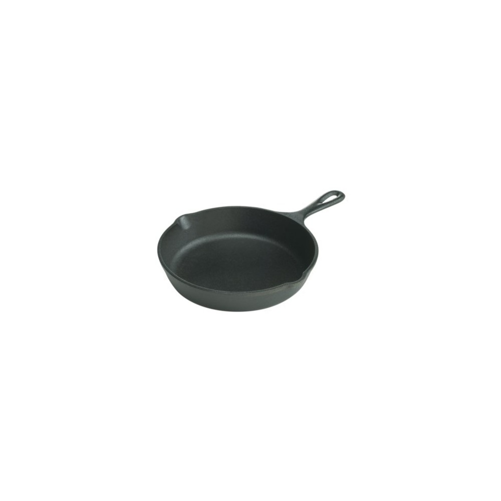 "Lodge 8"" Cast Iron Skillet, Black"