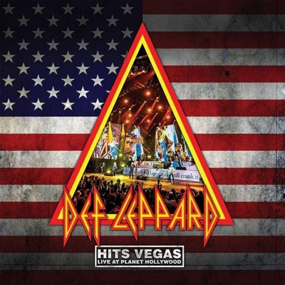 Def Leppard - Hits Vegas - Live At Planet Hollywood (3 LP) (Translucent Blue) (Vinyl)