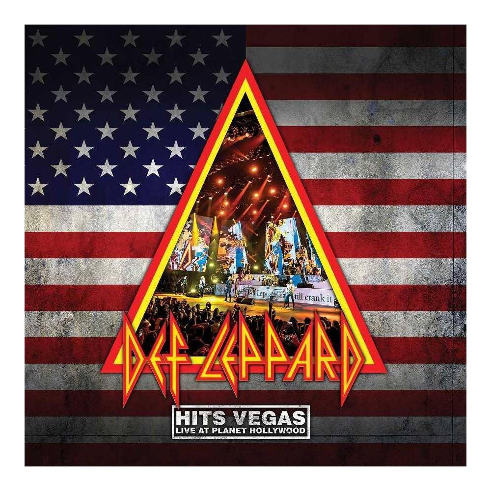 Def Leppard Hits Vegas Live At Planet Hollywood 3 Lp Translucent Blue Vinyl