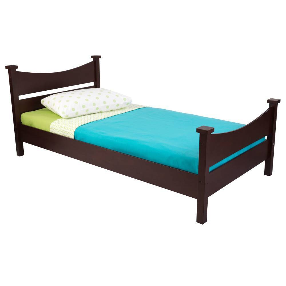 Image of Twin Addison Size Bed Espresso - KidKraft