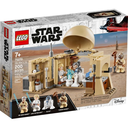 LEGO Star Wars: A New Hope Obi-Wan's Hut 75270 Starter Set for Young Kids image number null