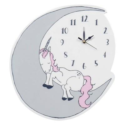 Trend Lab Unicorn Wall Clocks - White