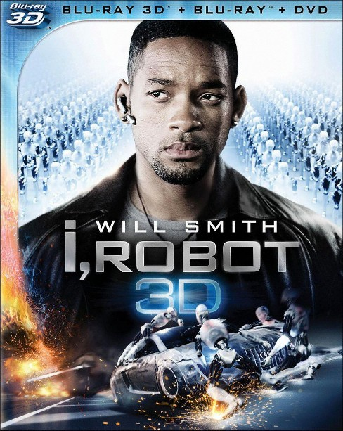I, Robot [3 Discs] [2D/3D] [Blu-ray/DVD] - image 1 of 1
