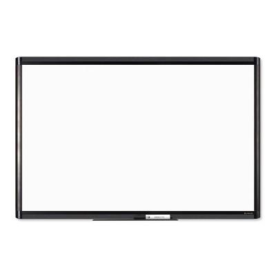 "U Brands 36""x24"" PINIT Magnetic Dry Erase Board Black Aluminum Frame"