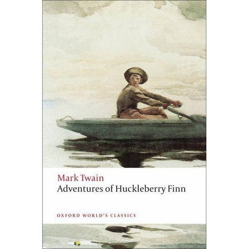Adventures of Huckleberry Finn - (Oxford World's Classics (Paperback)) by  Mark Twain (Paperback) - image 1 of 1