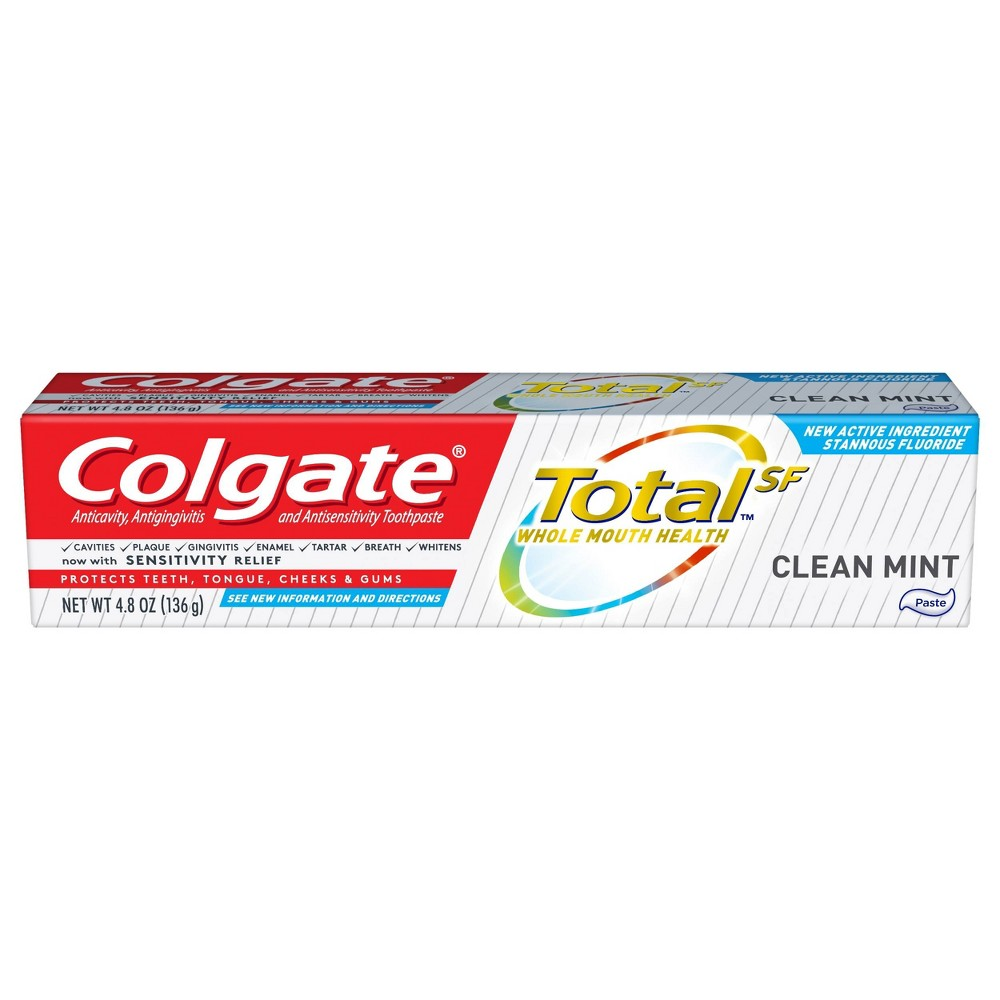 Image of Colgate Total Toothpaste - Clean Mint - 4.8oz