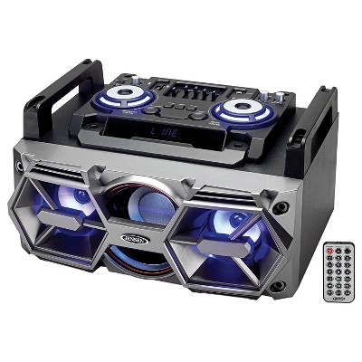JENSEN Bluetooth All-In-One Hi-Fi Music System with PA (SMPS-750)