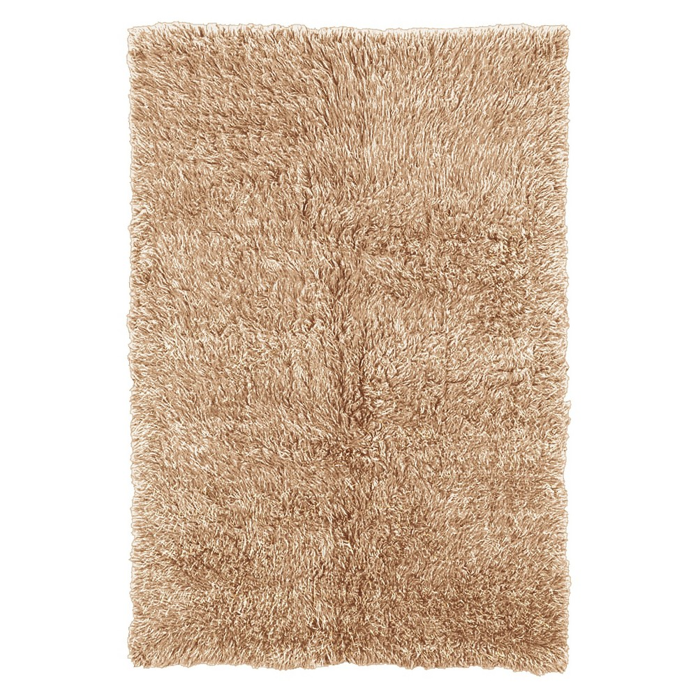 Best Review 100 New Zealand Wool Flokati Area Rug Tan 8x10