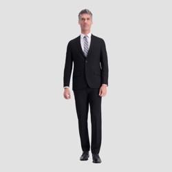 Haggar H26 Men's Slim Fit Premium Stretch Suit Jacket - Black 42 Regular