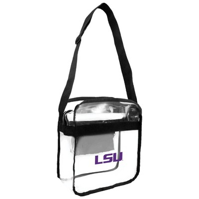 NCAA Little Earth Clear Carryall Cross Body Bag