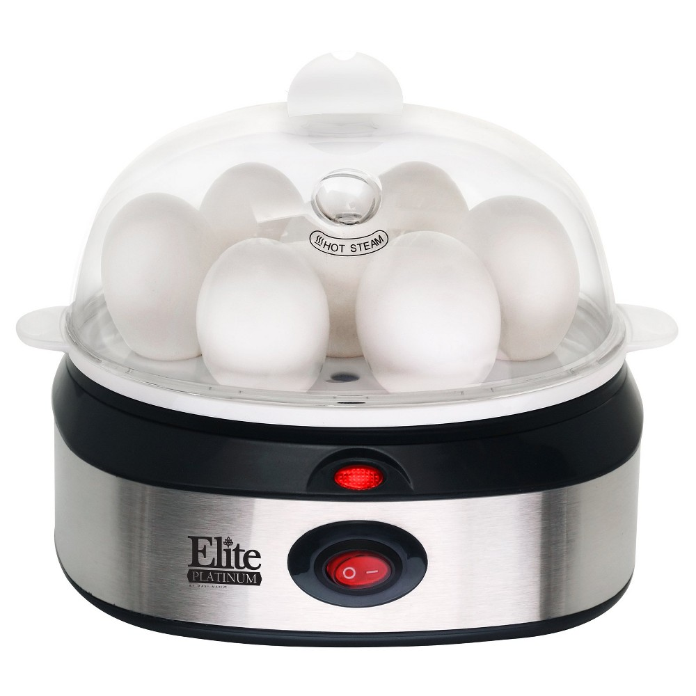 Elite Platinum Stainless Steel Automatic Egg Cooker Egc-207 47851035