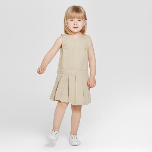 92635a075b5 Toddler Girls  Uniform Woven Jumpers - Cat   Jack™   Target
