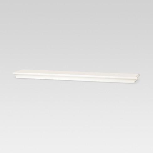 Traditional Wall Shelf White - Threshold™ - image 1 of 2