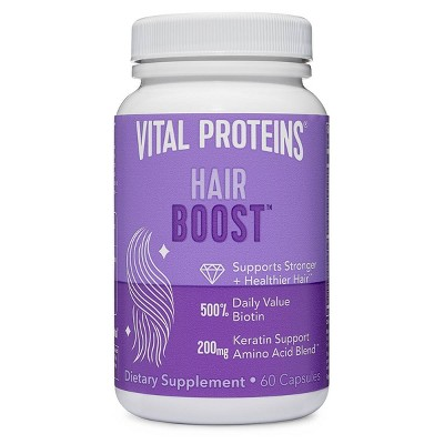 Vital Proteins Hair Boost Capsules - 60ct
