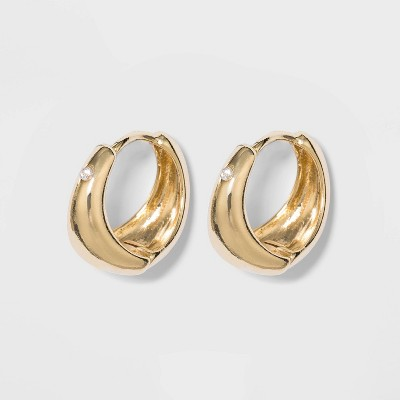 Small Hoop Earrings - A New Day™ Gold