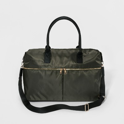 Nylon Weekender Bag - A New Day™ Olive Drab