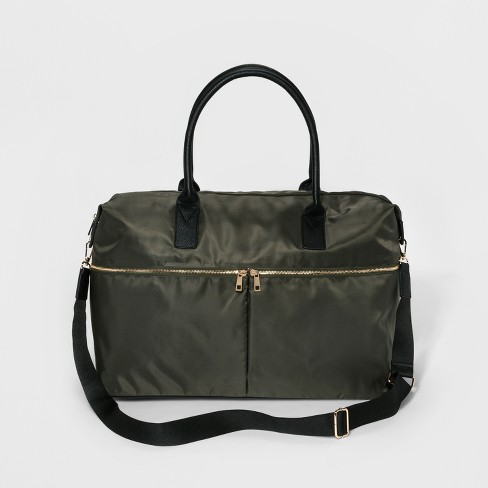 160e9e8ded09 Nylon Weekender Bag - A New Day™ Olive Drab   Target