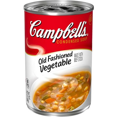 Campbell's Condensed Old Fashioned Vegetable Soup - 10.5oz