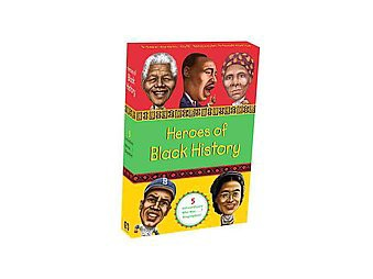Heroes of Black History : Who Was ?: Martin Luther King Jr., Jackie Robinson, Nelson Mandela, Rosa