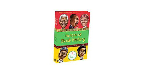 Heroes of Black History : Who Was ?: Martin Luther King Jr., Jackie Robinson, Nelson Mandela, Rosa - image 1 of 1