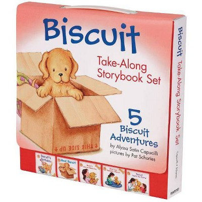 Biscuit Take-along Storybook Set : 5 Biscuit Adventures (Combined) (Paperback) (Alyssa Satin Capucilli)