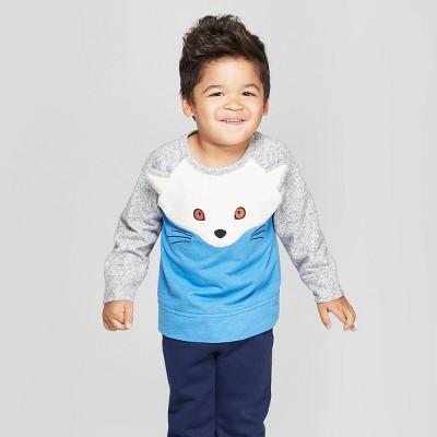 Genuine Kids® from OshKosh Toddler Boys' Arctic Fox Pullover - Blue 18M