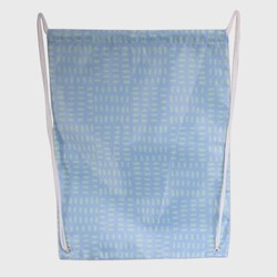 Easter Drawstring Bag Blue With Pattern - Spritz™
