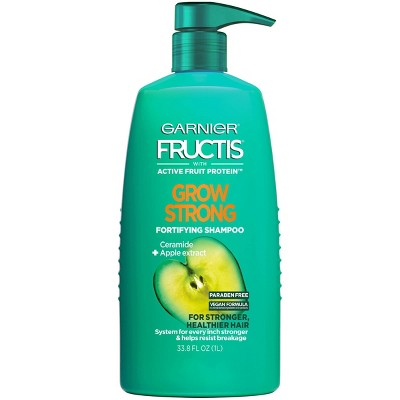 Garnier Fructis Active Fruit Protein Grow Strong Fortifying Hair Shampoo - 33.8 fl oz