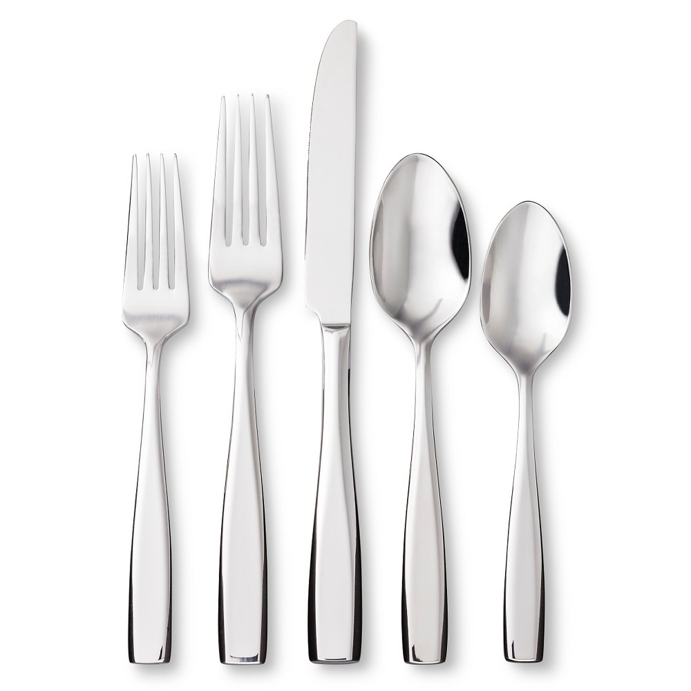 Image of Oneida 20pc Stainless Steel Continuim Flatware Set
