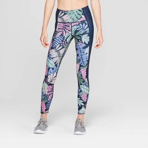 9ef6561f9ad706 Women's Female Activewear High-Waisted Reversible Leggings - JoyLab™ Navy  Blue XXL : Target