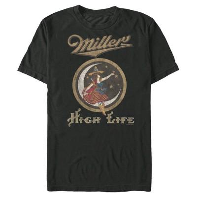 Men's Miller High Life Vintage Lady Logo T-Shirt