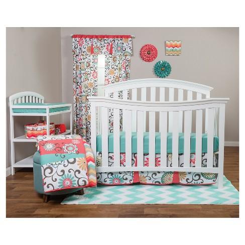 Waverly Baby By Trend Lab 3pc Crib Bedding Set Pom Play