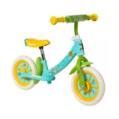 "Dynacraft Magna B-Wild 10"" Kids' Balance Bike - Teal Blue"