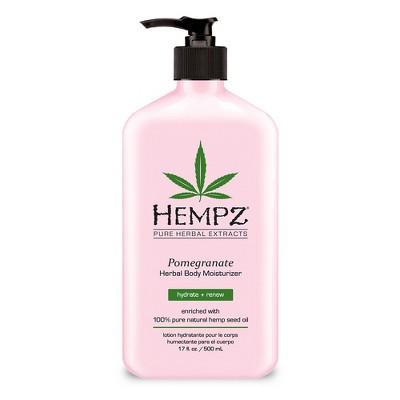 Hempz Herbal Body Moisturizer Pomegranate   17oz by 17oz