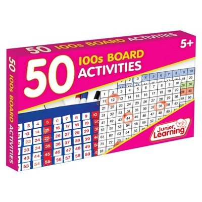 Junior Learning 50 100s Board Activities Learning Set