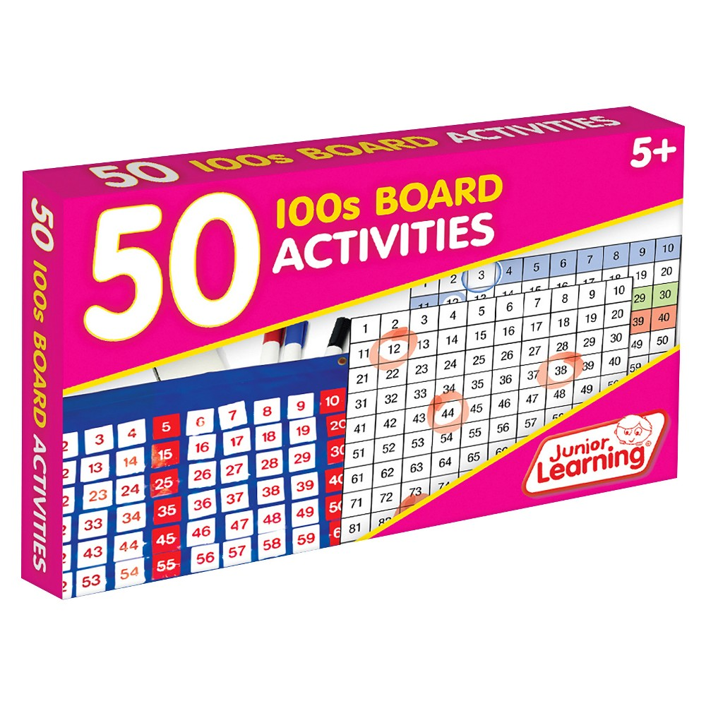 Image of Junior Learning 50 100s Board Activities Learning Set