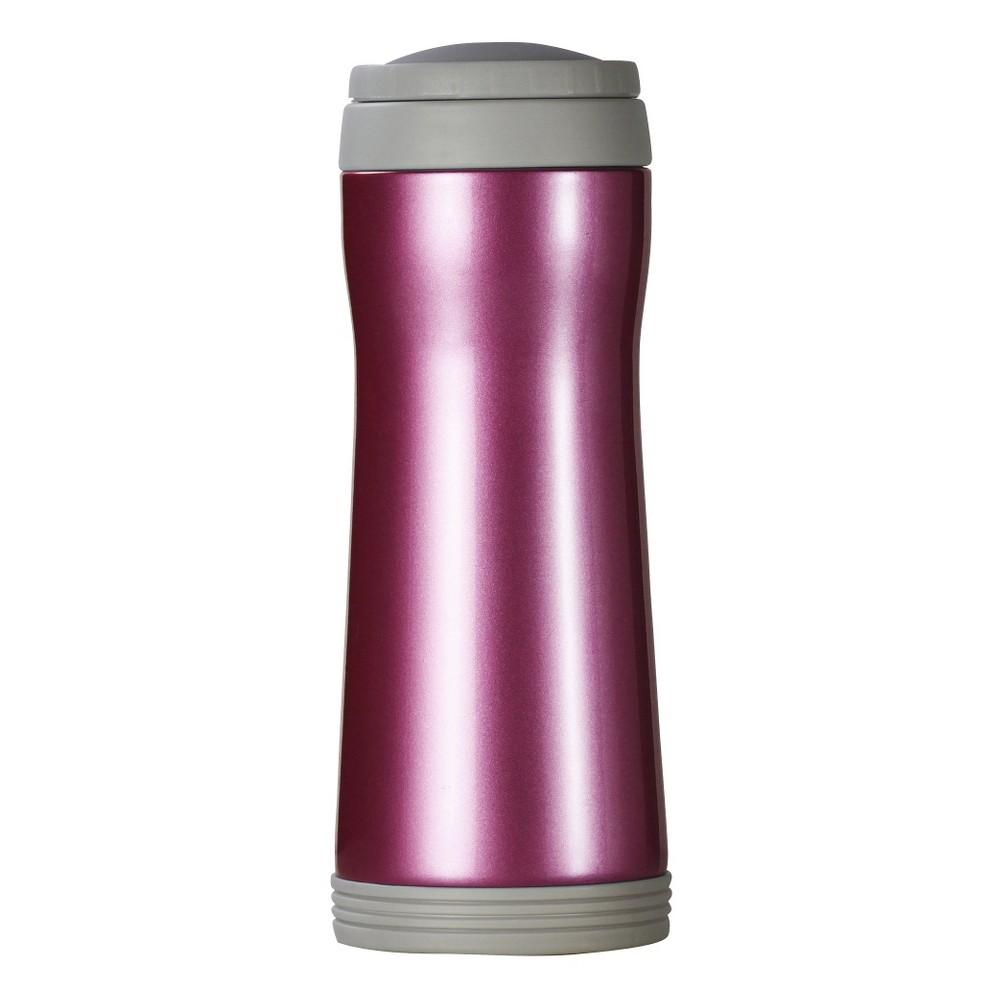 Image of AKTive Lifestyle Timolino Vacuum 12oz Mug with Infuser - Tomato Red