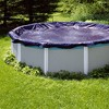 Swimline 21 Foot Round Above Ground Winter Swimming Pool Cover, Blue | PCO824 - image 3 of 4