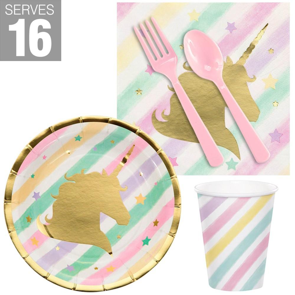 Image of 16ct Unicorn Sparkle Print Snack Pack