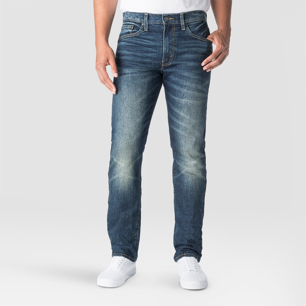 Denizen from Levi's Men's 232 Slim Straight Fit Jeans - Santos 36x34