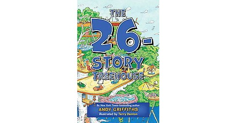 26-Story Treehouse (Paperback) (Andy Griffiths) - image 1 of 1