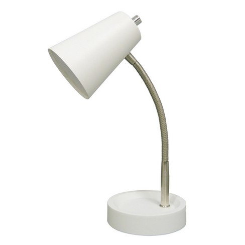 LED Task Table Lamp White (Includes Energy Efficient Light Bulb) - Room Essentials™ - image 1 of 1