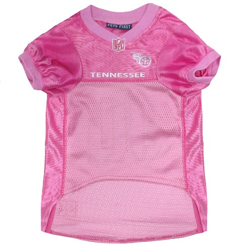 Tennessee Titans Pets First Pink Pet Football Jerse   Target 6d1207aab64
